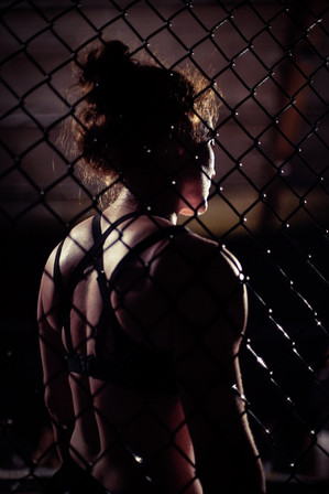 Rag Doll - Shannon Murray silouette in the cage