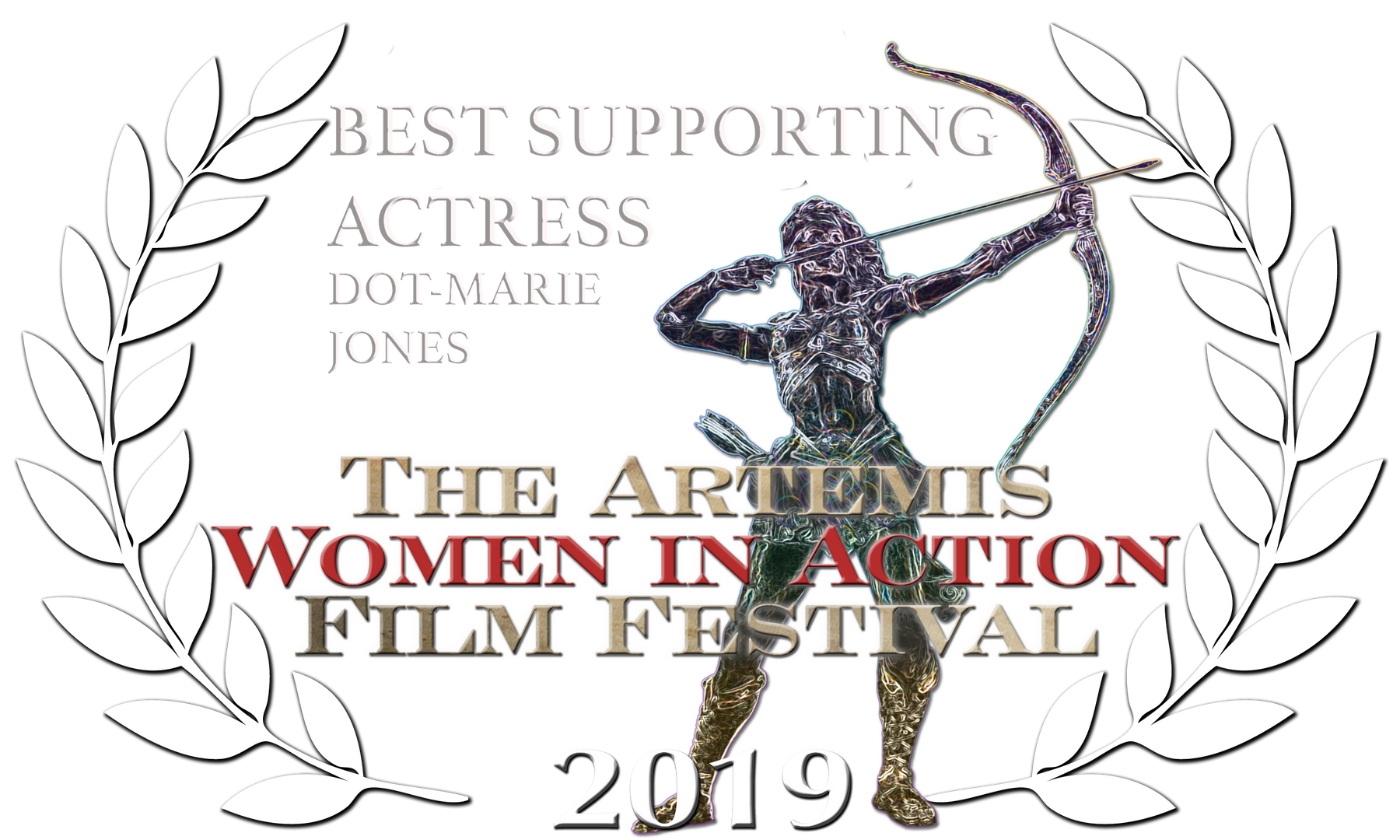 2019 AWIAFF Best Sup Actress laurels wht