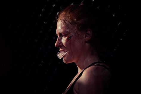 Rag Doll - MMA film by Bailey Kobe Shannon Murray out of breath fight in the cage