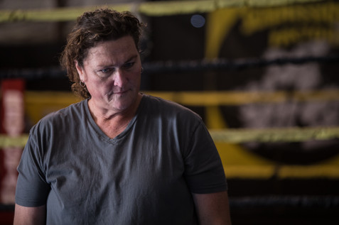"""Dot-Marie Jones considers her fighters during """"Rag Doll"""""""