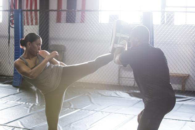 Rag Doll MMA film by Bailey Kobe fight prep