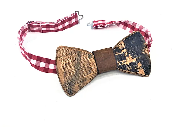 Bourbon Barrel Bow Tie