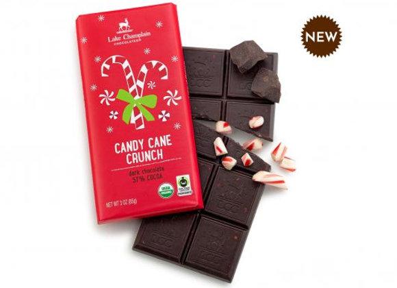 Peppermint Candy Cane Crunch bar -Lake Champlain