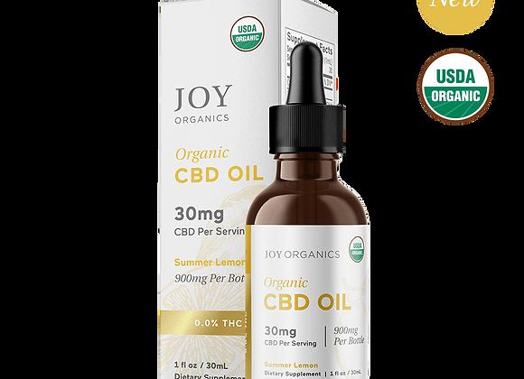 Joy Organics Tincture - 30mg per serving - CBD (Variety flavors)