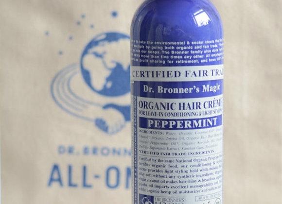 Dr Bronner's Organic Hair Creme - Peppermint