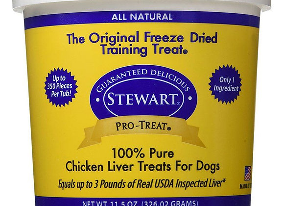 Stewart's 100% Chicken Liver Treats For Dogs