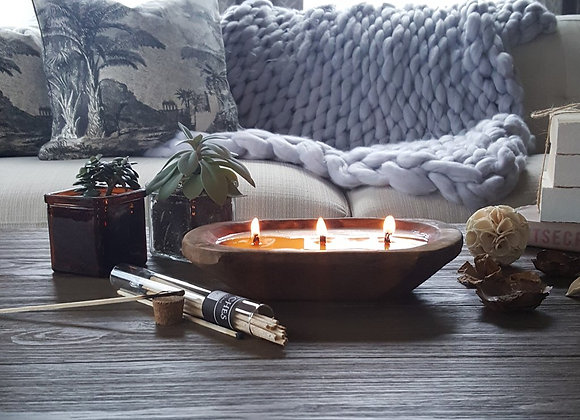 Dough Bowl 3-wick Candle (Variety Scents)