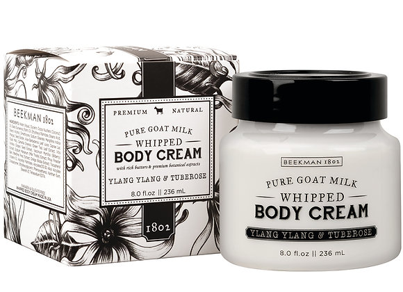 Beekman Ylang Ylang & Tuberose 8 oz. Whipped Body Cream