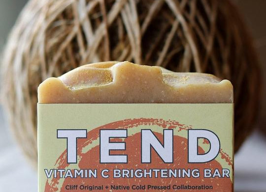 Cliff Original TEND - Vitamin C Brightening 4 oz. Bar