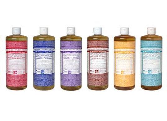 Dr Bronner's 18-in-1 Hemp Castile Soap (Variety)