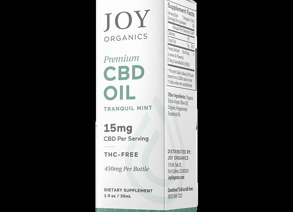 Joy Organics Tincture 500mg/450mg  (15mg per serving CBD)