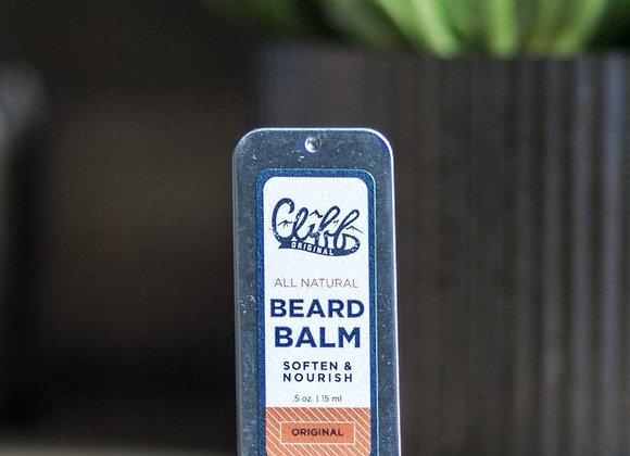 Cliff Original Beard Balm Slider Tin 0.5 oz.