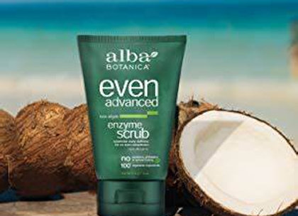 Alba Even & Bright Enzyme Scrub 4oz.
