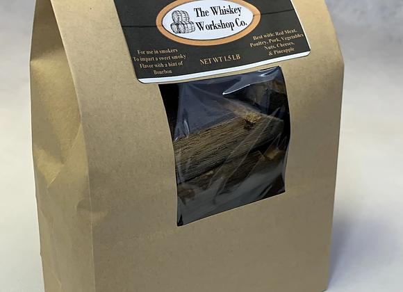 Bourbon Barrel Smoker Chunks 1.5 lb bag
