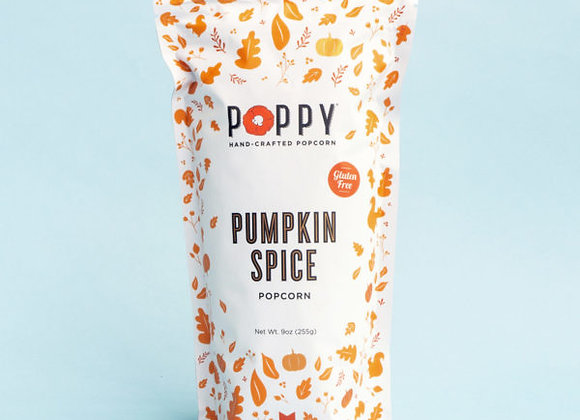 Poppy Pumpkin Spice Popcorn Market Bag 9oz