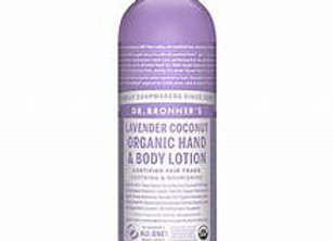 Dr Bronner's Organic hand & body lotion (Variety)