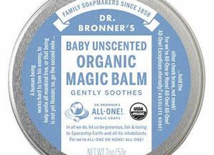Dr. Bronner's (Baby)Unscented Organic Magic Balm- 2oz tin