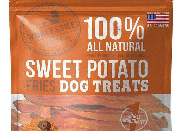 Sweet Potato Fries 4oz/8oz Dog Treats