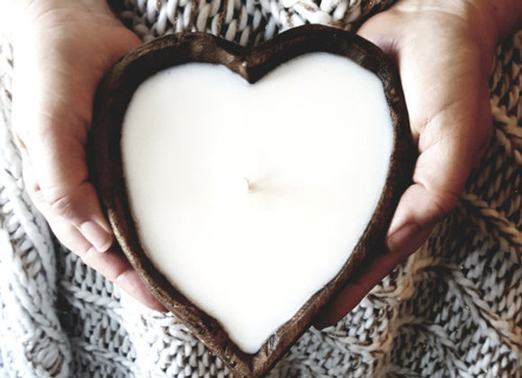 Dough Bowl Heart Shaped