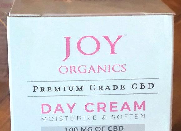 Joy Organics 100 mg CBD Day Cream- premium grade