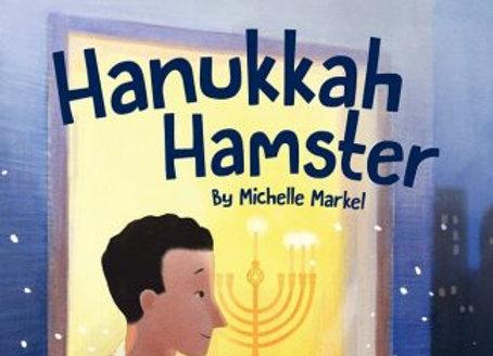 Hanukkah Hamster - hardcover book