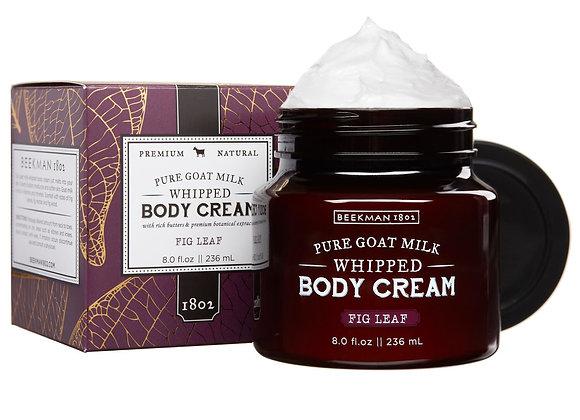 Beekman Fig Leaf 8 oz. Whipped Body Cream