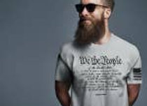 We The People Constitution T-shirt   (light gray)