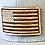 Thumbnail: Wood American Flag  Mesh Cap