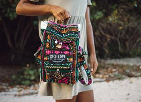 Rice Love Mini Travel Backpack Dana Style