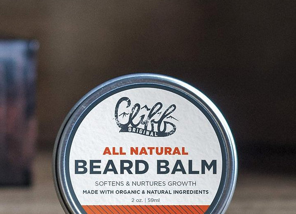Cliff Original Beard Balm Variety scent - Puck 2 oz. (tin)