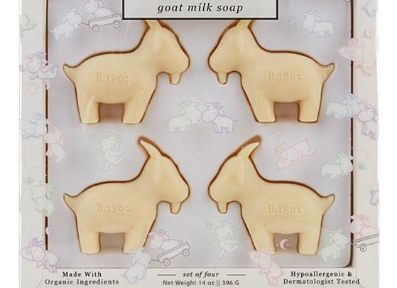 Beekman Baaaby (Baby) Goat Milk Baby Soaps- Set Of 4