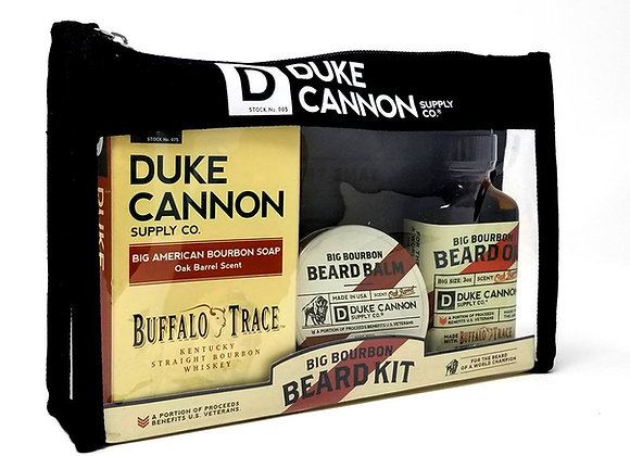 Duke Cannon Big Bourbon Beard (Buffalo Trace)Travel Kit