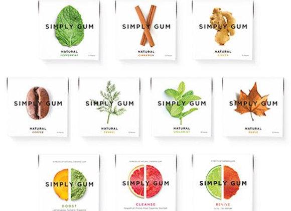 Simply Gum - 15 pieces per pack