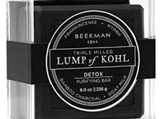 Beekman Lump of Kohl Detox Purifying Bar 8oz