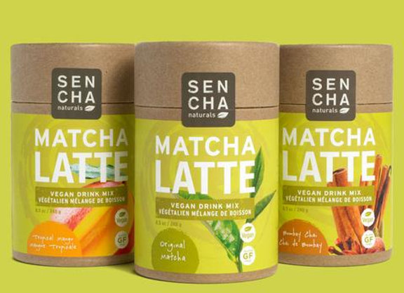 Eco Tubes of Matcha Green Tea - Variety