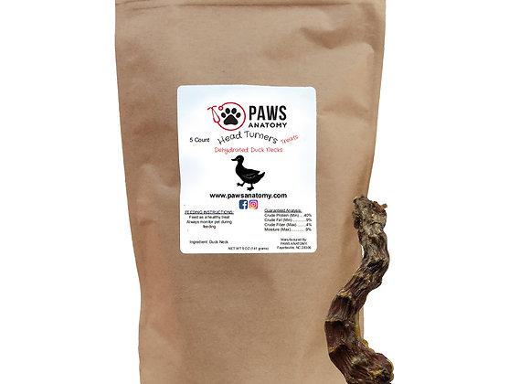 Paws Anatomy Duck Necks Dehydrated Dog Treats 5 oz. Bag