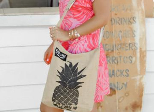 Rice Love Crossbody Bag - Pineapple