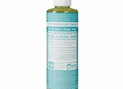 Dr. Bronner's Baby UnScented Pure Castile -16oz