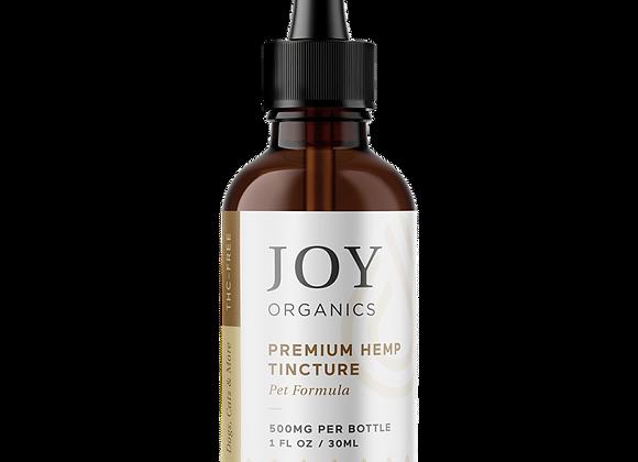 CBD Pet Tincture (Natural)-Joy Organics 500mg
