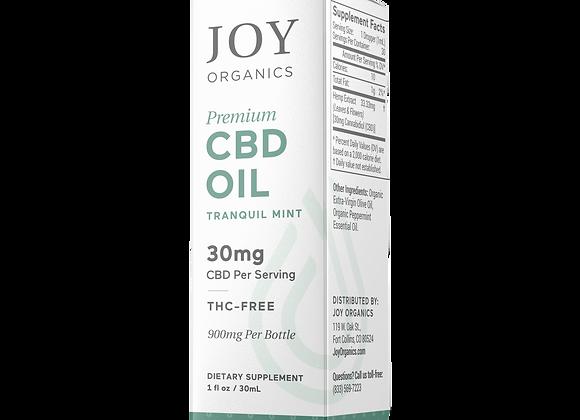 Joy Organics Tincture -1000mg/900mg (30MG) CBD (Variety flavors)
