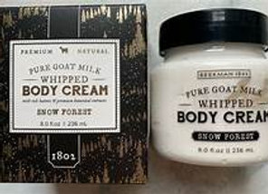 Beekman Snow Forest Whipped Body Cream 8 oz.