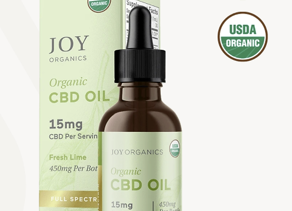 Fresh Lime Organic CBD Tincture (Full Spectrum 0.3% THC)