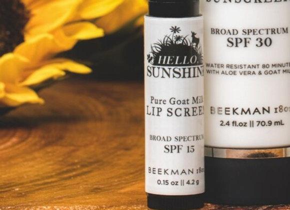 Beekman Hello Sunshine SPF Lip Balm