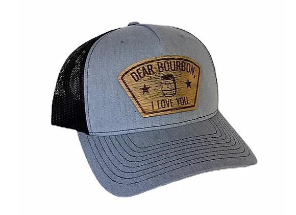 Dear Bourbon I Love You Mesh Cap