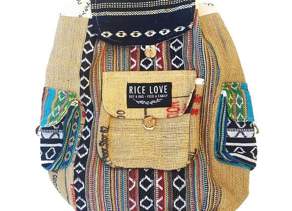 Rice Love Full size back pack - #Mumbai style