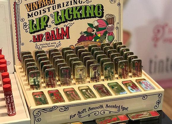 Tinte Vintage Lip Balm Single Tin - Various Flavors