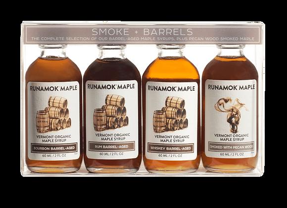 Runamok Organic Maple Syrup - Variety 2 oz bottles