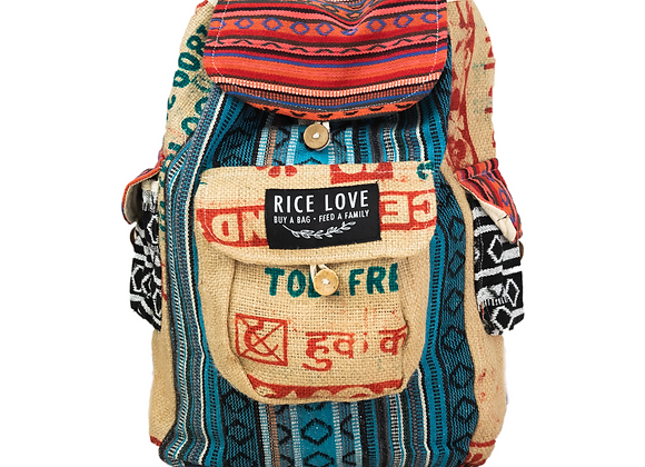 Rice Love Full Size Backpack - Chennai Style