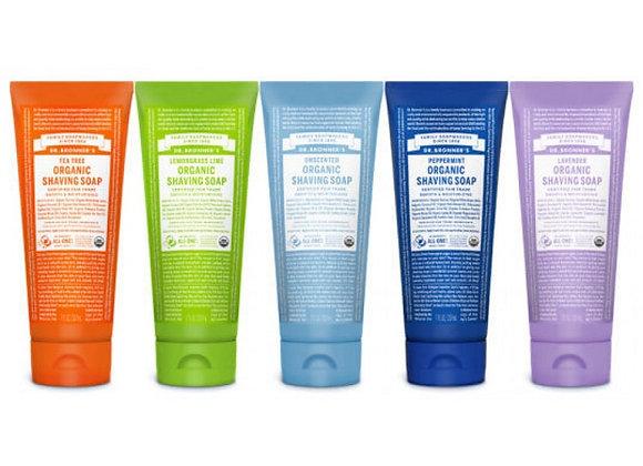 Dr. Bronner's Organic Shaving Soap 7 oz.