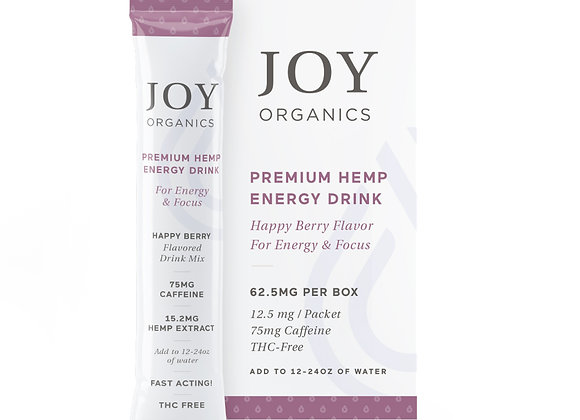 Joy Organics CBD Energy Drink Mix -Box of 5